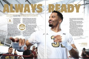 Andre Ward interview by Caryn A Tate